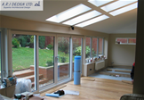 Large single storey rear extension (internal)